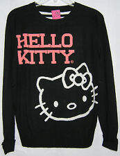 Hello Kitty Sweater Crew Longsleeve GREAT GIFT FREE USA SHIPPING SMALL NWT