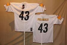 Troy Polamalu   PITTSBURGH STEELERS   Reebok JERSEY    Large    NwT   white