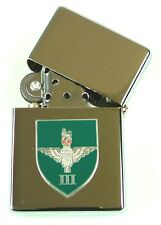 3rd BN THE PARACHUTE REGIMENT WINDPROOF CHROME PLATED LIGHTER