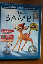 Disney BAMBI  Blu-ray/DVD ,digital HD   with slipcover