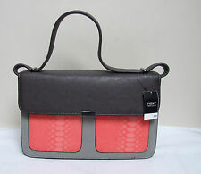NEXT LADIES GREY PINK SATCHEL BAG SHOULDER STRAP HANDBAG BRAND NEW