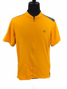 Pearl Izumi Mens Short Sleeve Cyling Shirt Size XXL Yellow Selecy Series