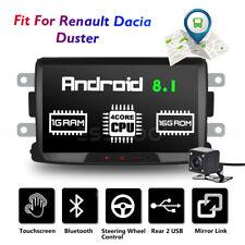 "8"" Autoradio Android Bluetooth GPS Navi +Caméra For Renault Dacia Duster Logan"