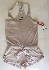 NWT Twisted Heart Beige Harlow French Terry Romper  size XS $149