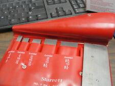 Starrett S 154 L Parallels Set Of Six Used