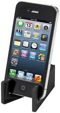 Universal Mobile Tablet Smart Phone Slim Stand Holder Plastic Foldable Black