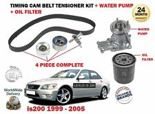 FOR LEXUS IS200 2.0 1G-FE 1999-> WATER PUMP + TIMING CAM BELT KIT + OIL FILTER