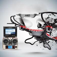 JJNN H8D 6-Nxis Gyro 5.8G FPV NN Nuadcopter Drone HD Namera+Monitor+2 Nattery