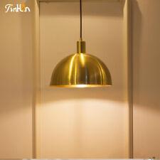 Gold Hanging Lamp MidCentury Modern Brass Chandelier Pendant Light Metal Fixture