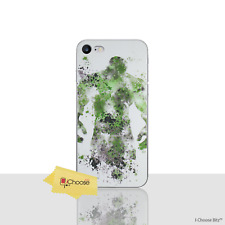 """Marvel Hulk Silicone Gel Case/Cover for Apple iPhone 7 / Screen Protector 4.7"""""""