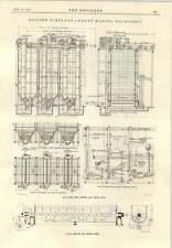 1915 British Portland Cement Making Machinery Silos