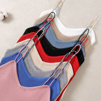 Women Summer Strap Knitted Vest Tank Cami Sexy Free Size Tops Slim Fit Tops