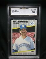1989 Fleer Edgar Martinez ⚾ Card #552 10 Gem Mint Seattle Mariners HOF 💎💎