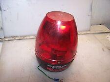 WHELEN 120 VAC RED ROTA-BEAM II BEACON LIGHT RB2-120