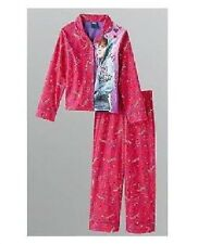 Justin BIEBER Pink Shirt & Pants PAJAMAS Pjs 10/12 NeW Button-Up Top 2 pc Set