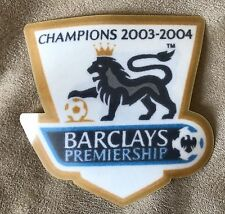 Pair(2) 2003-2004 English Premier League Sleeve Badge Patches -  Player Size