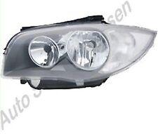 BMW 1 E81 E87 E88 E82 Bj. 2007 bis 2011 Scheinwerfer links H7 +H7 Lampe Leuchte