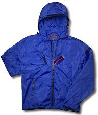 895$ Ralph Lauren Purple Label Royal Blue Windbreaker Waterproof Size XXL