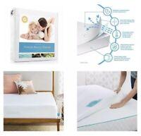 Linenspa Premium Mattress Protector - Waterproof Hypoallergenic - Queen Size