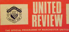 Home Teams Manchester United Football Programmes