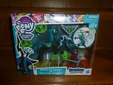 My Little Pony Guardians of Harmony QUEEN CHRYSALIS v SPIKE THE DRAGON 2 Pack