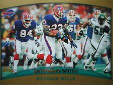 NFL 43 antowain smith Buffalo Bill topps 1998