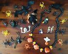 Vintage Plastic Halloween Hallmark Fun World Lehman Russ Witch Ghost Pin Toy Lot