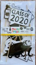 2 sets of 10Pcs Graduation Party Photo Booth Props Party Supplies