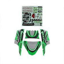 Redcat Racing 20193 Lexan Body Panels Green  SANDSTORM  20193