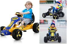 Pedal Go Kart Car Toy Adjustable Seat Plastic Metal Control Speed Boys Girls
