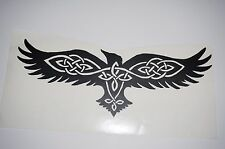 Wall Sticker Art custom Vinyl indoor decal window laptop removable Celtic Eagle