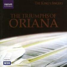 Various Composers : Triumphs of Oriana, The (The King's Singers) CD (2006)