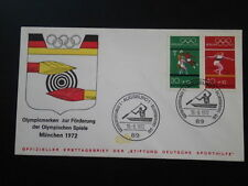 olympic games Munchen 1972 FDC Germany 66271