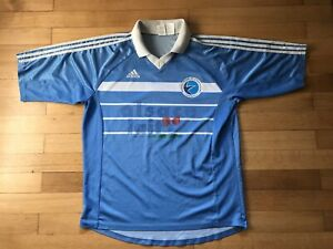 Maillot vintage RC Strasbourg Alsace Lait taille XL Adidas n°7