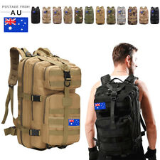 30L/35L/40L Outdoor Military Rucksack Tactical Backpack CamoHiking Camping Bag