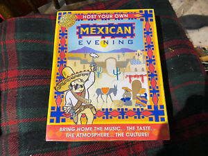 Host Your Own Mexican Evening - NEW/SEALED - CD, Games, Recipes Etc.