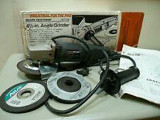 "Craftsman Industrial 4-1/2"" 110V Angle Grinder 10,000 RPM Sears USA Plug"