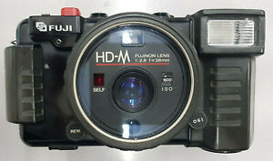(0118) Fuji 35mm Film Camera HD-M 38mm F2.8 Tested From Japan