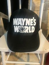 Vintage 90's Wayne's World Hat Snapback Trucker Cap Movie Promo NWOT Mike Myers