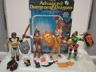 LJN Dungeons & Dragons shield shooter action figure toy lot ogre king mandoom