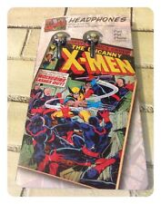 Official The Uncanny X Men Marvel Comics Headphones iPod iPad Compatible New