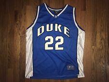 Duke Blue Devils Basketball Jersey Mens XL Colosseum Sport Preowned Duke