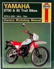 Reparaturanleitung Yamaha DT50 & DT 80 Trail 78-95