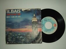 "R. Bais / Living In New York - Disco Vinile 45 Giri 7"" Stampa  Italia 1983"