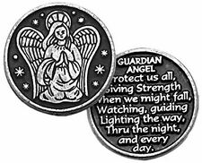 Guardian Angel Pewter Pocket Token (PT105) NEW
