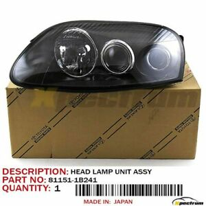 93-98 TOYOTA SUPRA FACTORY OEM 81151-1B241 (LH) SIDE PROJECTOR HEADLIGHT LAMP