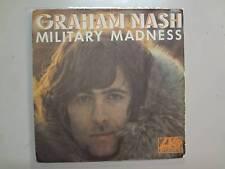 "GRAHAM NASH: Military Madness 2:53-Sleep Song-France 7"" 71 Atlantic No 10054 PSL"