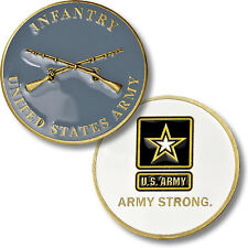 Infantry - Army Strong - US Army Challenge Coin NEW