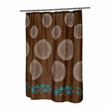 Embroidered Contemporary Shower Curtains