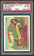 1987 Topps Garbage Pail Kids 338b Teeter Todd Psa 10 Gem Mint Os9